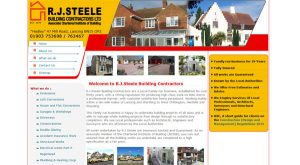 RJ Steele by East Sussex Website Design