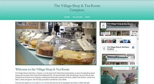 Southdowns Tearooms by East Sussex Website Design