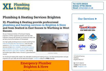 XL Plumbing and Heating