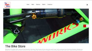 Bike Store Website Design East Sussex