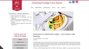 Claremont Lodge by East Sussex Website Design