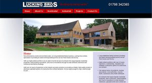 Lucking Bros by East Sussex Website Design