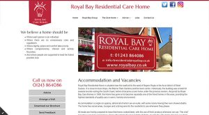 Royal Bay Residential by East Sussex Website Design